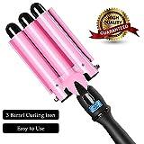 3 Barrel Curling Iron Hot Tools Curling Iron Fast Heating Ceramic Hair Waver