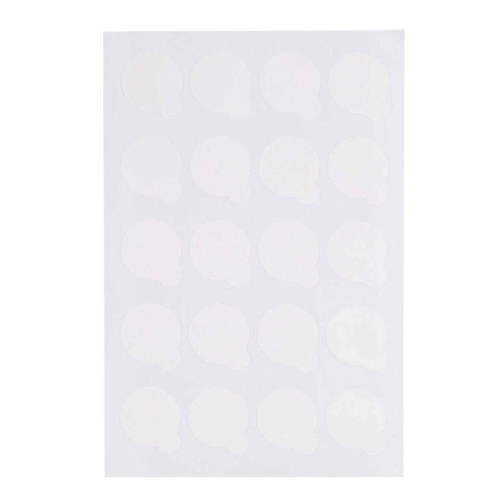 5 Sheets Disposable Eyelash Glue Holder Professional Waterproof Eyelash Extension Glue Holder Pallet Paper Pads Stand GLOGLOW