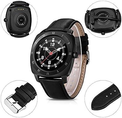 Excelvan DM88 - Smartwatch Reloj para Móvil Android IOS (Pantalla ...