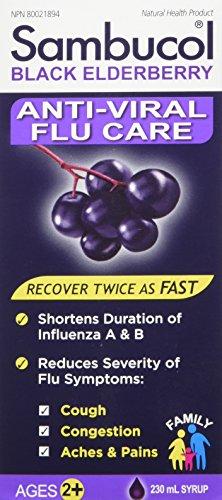 (SAMBUCOL Anti-Viral Flu, 230 ML)