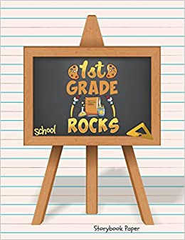 1st Grade Rocks School Storybook Paper School Teachers Pre K