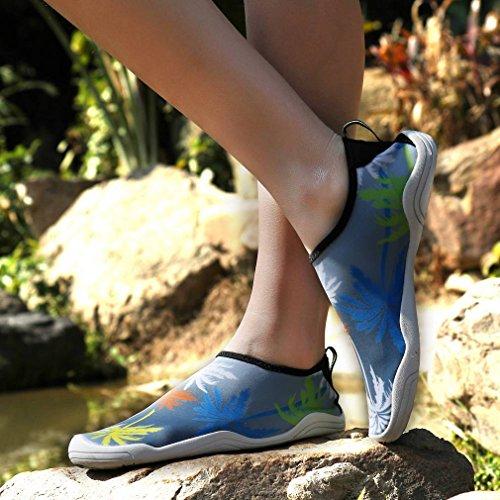 Séchage Doux Sport Chausson Respirant d'eau Extérieurs Rapide Chaussure Gris Bigood dR0xXwTqw