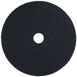 Glit 29061 TK Polyester Blend Safire 66 Stripping Pad, Synthetic Blend Resin, Minerals Grit, 175 to 350 rpm, 24\