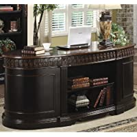 Nicholas Office Desk in Two Tone Finish - Coaster 800921