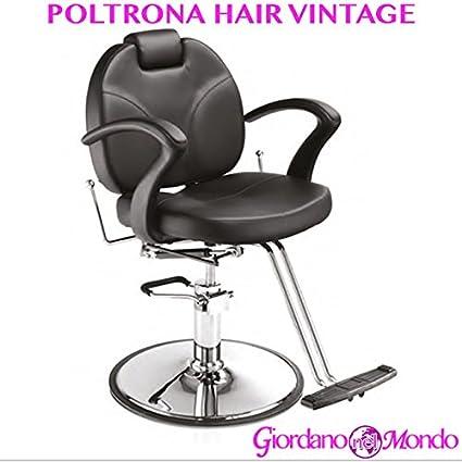 Sillón peluquería silla Hair Vintage profesional para Barbero ...