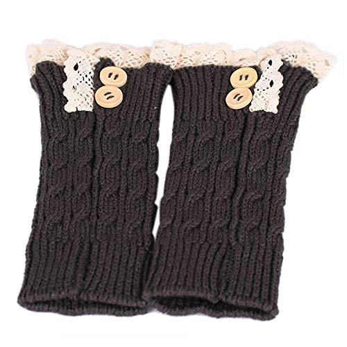 Warm Warmers Socks Knitted Cuffs Twist SoonerQuicker Leg Heels Womens Winter Womens Shoes Boot Soft Women Gray Boots gznWqHE0q