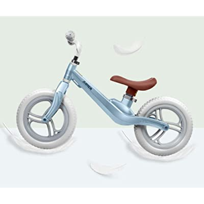 LINGS Foldable Bicycle Kids' Bikes 12 Inch Magnesium-Aluminum Alloy Balance Bike Child Without Pedal Scooter Scooter 2-3-6 Years Old Child Bicycle Child Car: Home & Kitchen