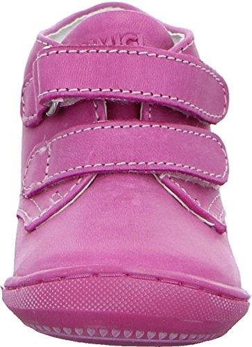Primigi Cecco Kinder Sneaker Stiefel Leder Halbschuh Klettverschluss Rosa