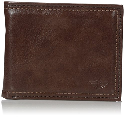 dockers-mens-vado-passcase-wallet-brown-one-size