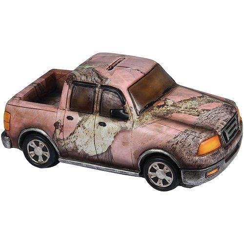 Rivers-Edge-Truck-Piggy-Bank-Pink-Camo-9-Inch