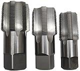 Drill America - POUCSNPT3 3 Piece NPT Pipe Tap Set
