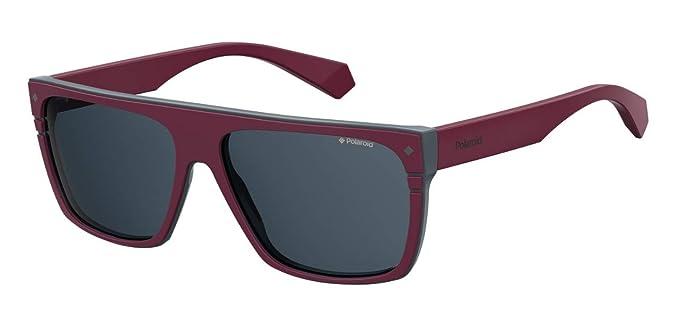 Polaroid - Gafas de sol unisex modelo 6086/S/X Brgndy Grey ...