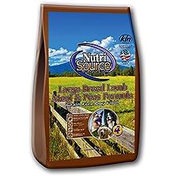 Tuffy'S Pet Food Nutrisource Grain-Free Large Breed Lamb Formula Dry Dog Food, 30-Pound