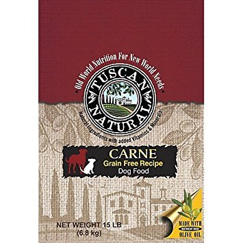 Tuscan Natural Carne Grain Free Dry Dog Food 15lb