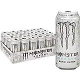 Monster Energy Zero Ultra, Sugar Free Energy Drink, 16 Ounce