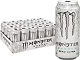 Monster Energy Zero Ultra, Sugar Free Energy Drink, 16 Ounce