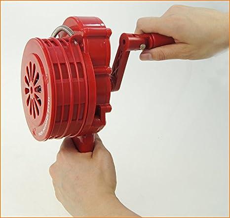 990630 Manivela antiaérea Sirena antiaérea Incendio alarma ...