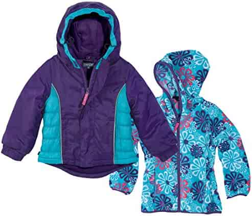 c6f00fbe Cozy Cub Waterproof Grow-With-Me Winter Jacket With Fleece Insert, Ages 1