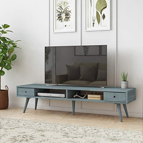 Domesis Mid Century Modern Wood TV Stand