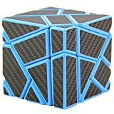 Kingcube Fangcun Ghost 3x3 Blue Magic cube 3x3 Ghost 3x3x3 speed cube with Black sticker
