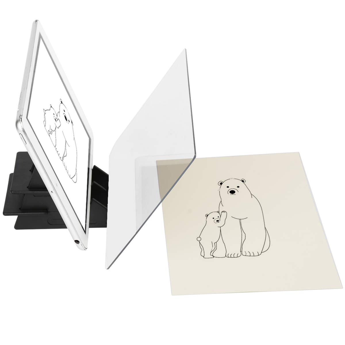 Yuntec Optical Drawing Board, Sketch Wizard, Easy Tracing Drawing, Sketching Tool, Sketch Drawing Board, Optical Picture Book, Painting Artifact Sketching kit for Kids