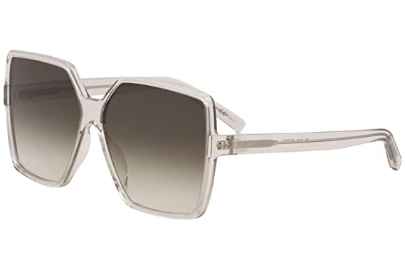 b8f60906e2e Image Unavailable. Image not available for. Color  Saint Laurent SL 232 Betty  Sunglasses ...
