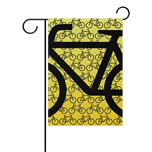 Home Decorative Outdoor Double Sided Bike Graphic Isolated G