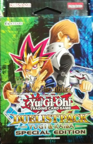 YuGiOh Duelist Pack Yugi & Kaiba SE Special Edition Pack [6 Booster Packs] Photo