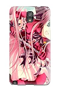 Tpu Case For Galaxy Note 3 With Girl Design