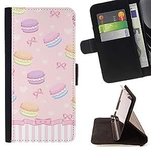 Jordan Colourful Shop - sweets bowtie girls dessert For Apple Iphone 6 PLUS 5.5 - Leather Case Absorci???¡¯???€????€????????&ce