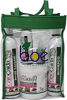 BOE Mezcla Cero Caida 5 Pack Combo Set / Tote Bag