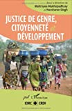 img - for Justice de genre, citoyennet   et d  veloppement (French Edition) book / textbook / text book