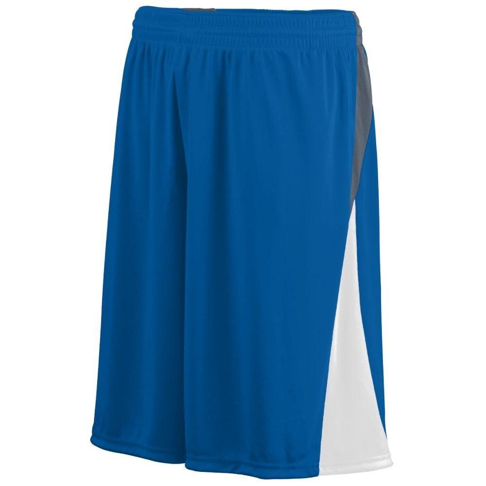 Augusta Sportswear Boys ' Cyclone Short B00HJTQ7VQ M|Royal/White/Graphite Royal/White/Graphite M