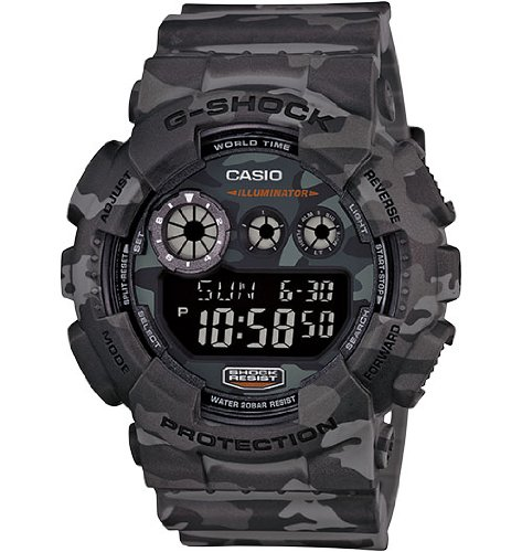 G Shock GD 120CM Designer Watch Grey