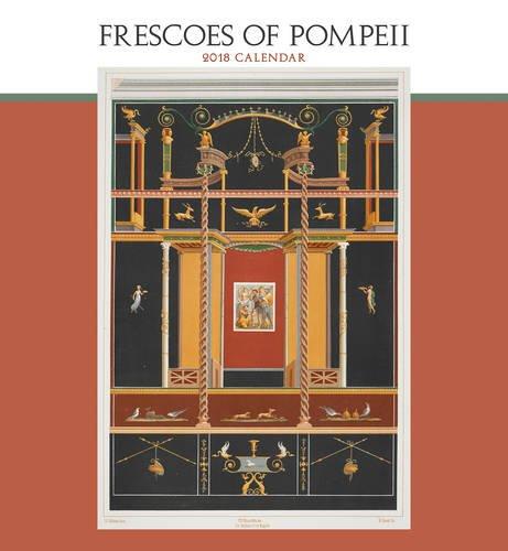 Frescoes of Pompeii 2018 Wall Calendar