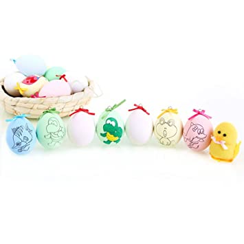 Amazon.com: Easter Egg Coloring and Decorating Kit, DIY Painting Egg ...