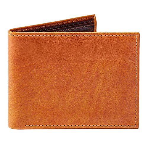 Moore and Giles BI-FOLD Wallet Modern - Saddle Leather by Moore and Giles