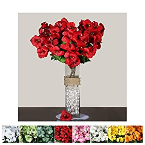 Efavormart 72 pcs Artificial Primrose Flowers for Wedding Party Arrangements - 4 Bushes 93