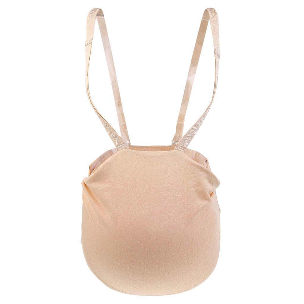 Sharplace Silikon Babybauch Schwangerschaft Künstliche Silikonbauch Schwangere Schwangerschaftsbauch für Karneval Fasching - 1000g
