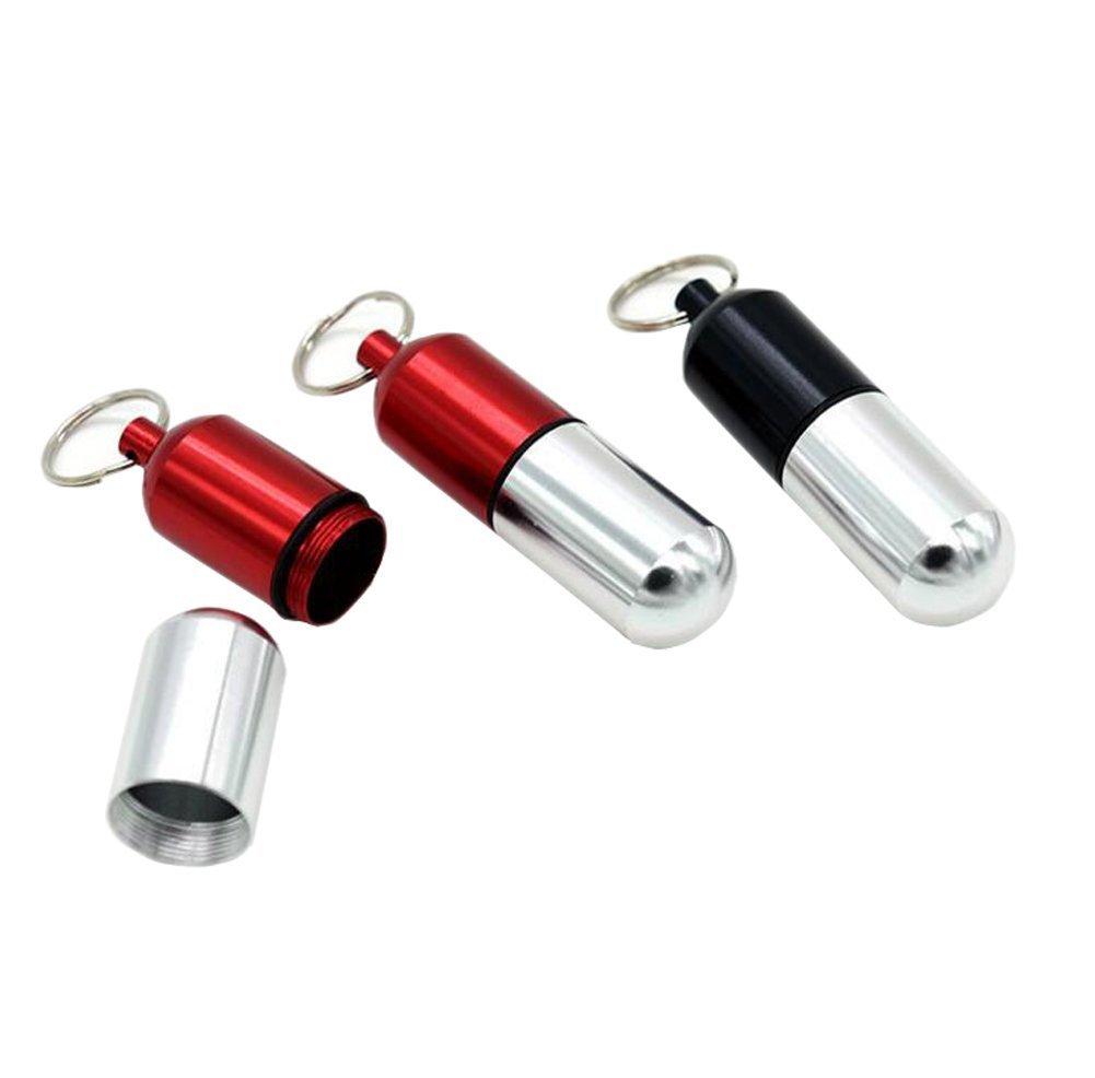 Amazon.com: Nueva 3Pcs Mini (aluminio Píldora Caja ...