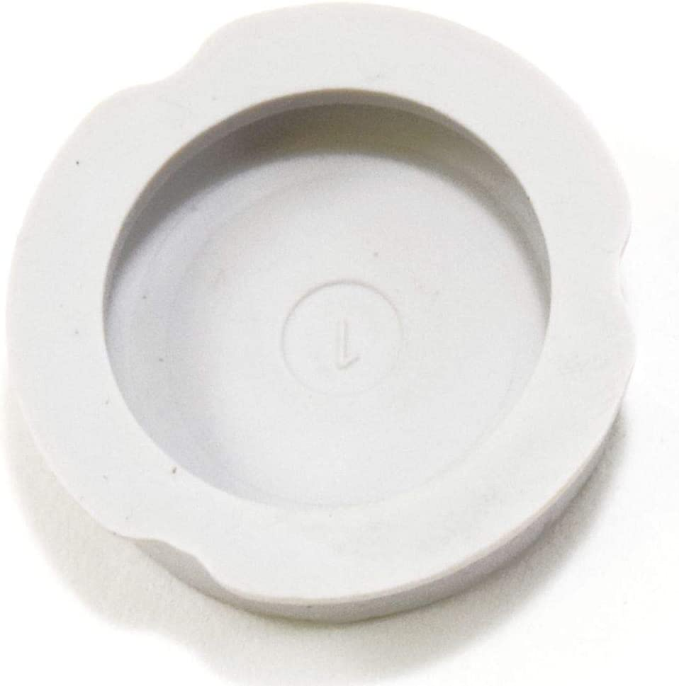 Whirlpool WY314137 Dryer Leveling Leg Rubber Pad Genuine Original Equipment Manufacturer (OEM) Part