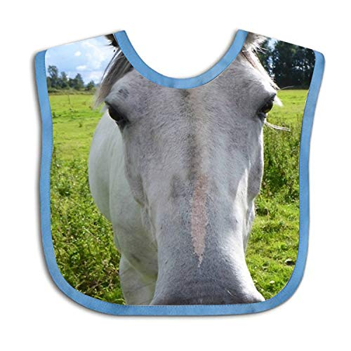Lively Horse Cotton Baby Bibs - Best Gift for Newborn Baby Bib, Toddler Bib