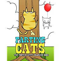 Farting Cats: The Tooting Kitty Coloring Book