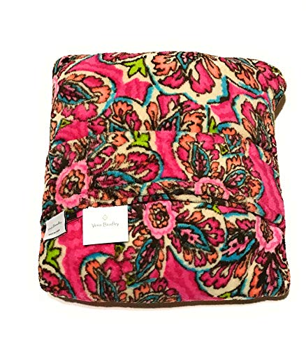 (Vera Bradley Fleece Travel Blanket Sunburst Floral)