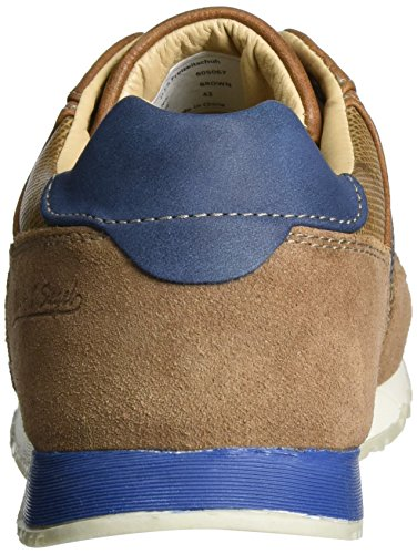 H.I.S Herren 605067 Low-Top Braun (Brown)