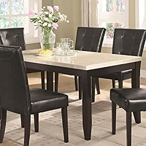 Coaster Home Furnishings 102771 Casual Dining Table, Cappuccino