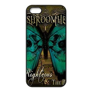 Mushroomhead and the Butterfly Custom Design Apple Iphone 5 5s Hard Case Cover phone Cases Covers