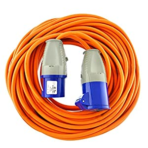 AB Tools Caravan Hook Up Cable/Boat Shore Power Lead 25m 230v 16A TR178