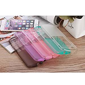 ZXC 4.7 Inch Color Transparent Back Cover for iPhone 6 (Assorted Colors) , White