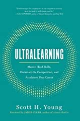 Now a Wall Street Journal bestseller.                       Learn a new talent, stay relevant, reinvent yourself, and adapt to whatever the workplace throws your way. Ultralearning offers nine principles to master hard skills ...